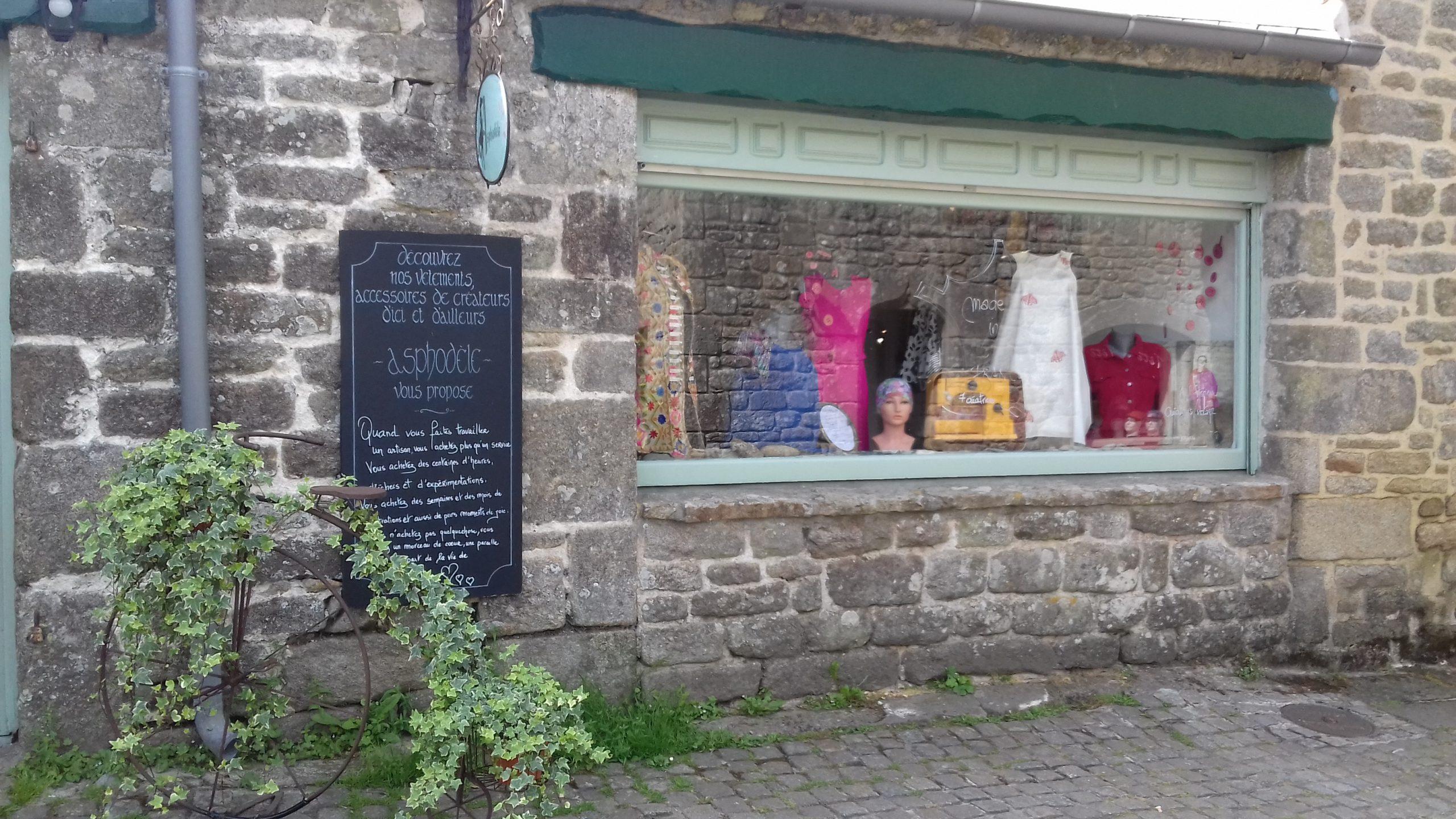 boutique créateurs Locronan